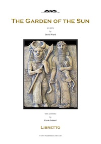 Title Page: The Garden of the Sun by David Ward, published by Vanderbeek & Imrie, contemporary music publishers